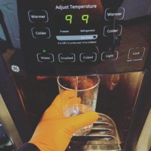 GE refrigerator service repair